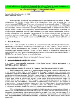 Leia - Portal dos Fóruns de EJA