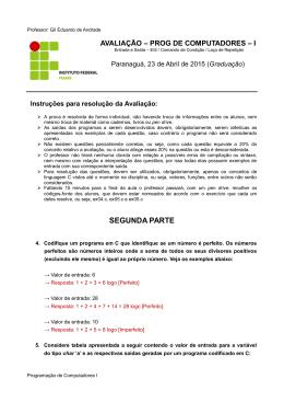 SEGUNDA PARTE - Gil Eduardo de Andrade