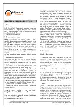 ORTOGRAFIA - Refferencial Cursos