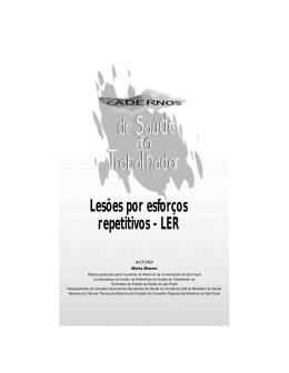 Lesões por esforços repetitivos