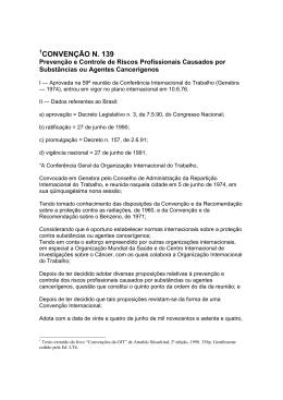 CONVENÇÃO N. 139