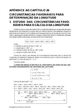 APÊNDICE AO CAPÍTULO 26 CIRCUNSTÂNCIAS FAVORÁVEIS