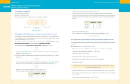 EXPLORA Máximo divisor comum de dois números. Números
