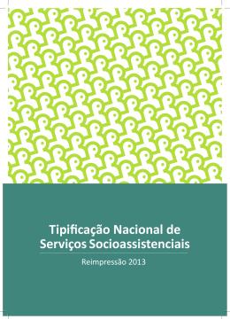 Tipificação Nacional dos Serviços Socioassistenciais