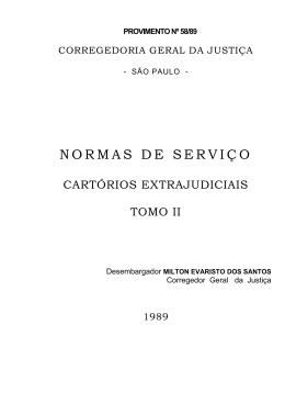 TOMO II - NSCGJ - Tribunal de Justiça