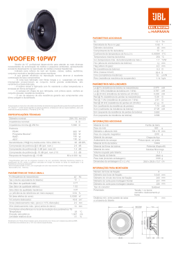WOOFER 10PW7 REV.00-10