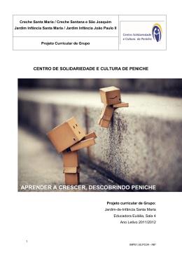 Projeto Pedagógico - Centro Solidariedade e Cultura de Peniche