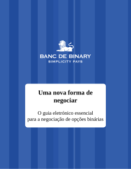 eBook Livre - Banc De Binary