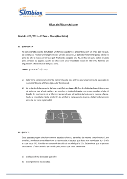 Dicas de Física – Adriano