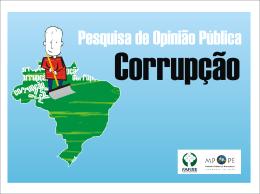 Apresentação Corrupção