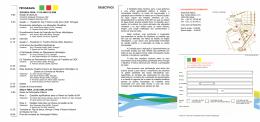 Folheto O Planeamento Hidrológico e as Alterações