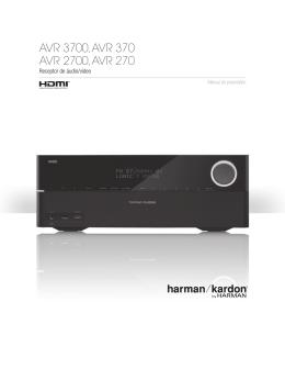 AVR 3700, AVR 370 AVR 2700, AVR 270