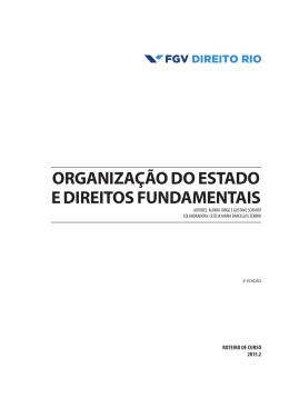 organização do estado e direitos fundamentais