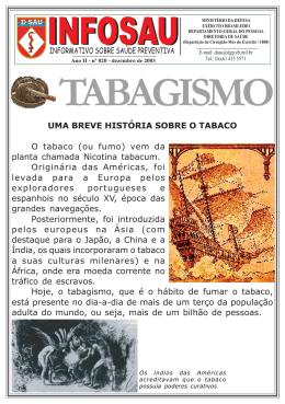 Nº 020 - Tabagismo - Diretoria de Saúde