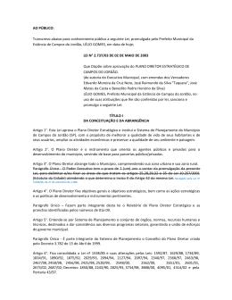 LEI 2.737_03 - PLANO DIRETOR Consolidada