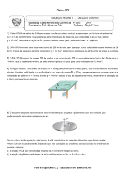 Lista em formato PDF