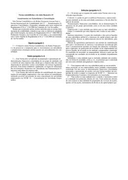 NCRF 15 - Comissão de Normalização Contabilística