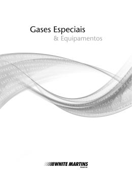 Catálogo de Gases Especiais