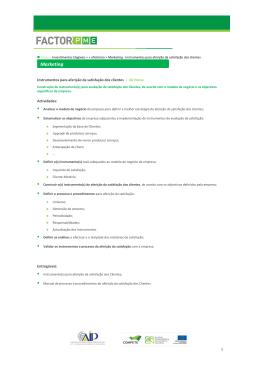 informação - FACTOR PME