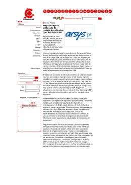 ciberia .:. Arsys assegura protec..o do registo dos clientes