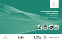 Organização e Arquitetura de Computadores - Rede e-Tec