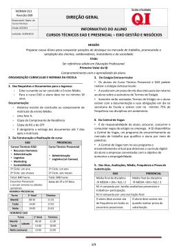 Livros Oficiais da escola/documentos
