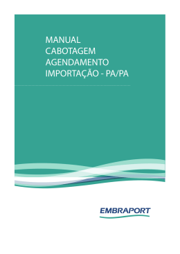 14825-14-MANUAL CABOTAGEM AGENDAMENTO