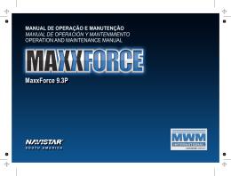 MaxxForce 9.3P - MWM Motores Diesel