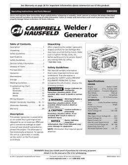Welder / Generator