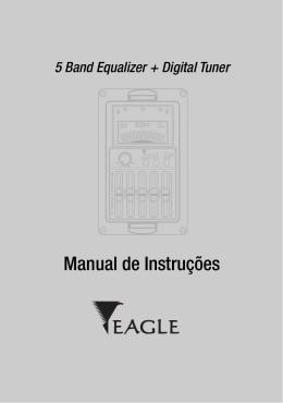 Guia de utilização do equalizador/afinador