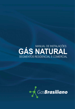 GÁS NATURAL - GasBrasiliano