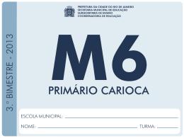 6º Ano - Prefeitura do Rio de Janeiro