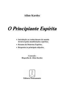 Allan Kardec - O Principiante Espírita