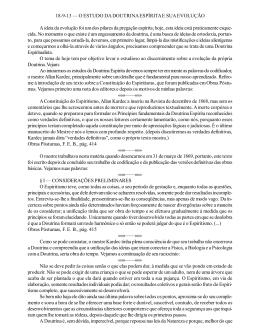 18-9-13 — O ESTUDO DA DOUTRINA ESPÍRITA E SUA