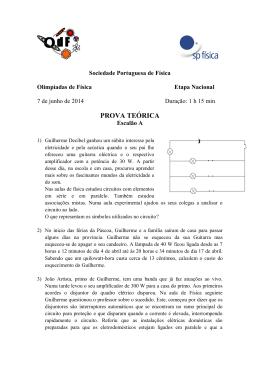 PROVA TEÓRICA - Sociedade Portuguesa de Física