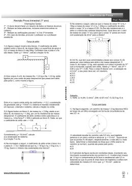 1 Exercícios de Física - professorpanosso.com.br