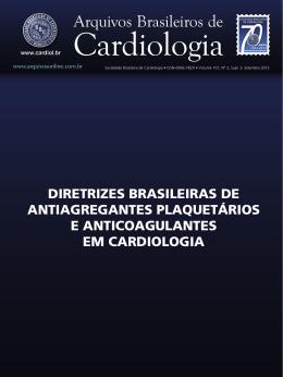 I Diretriz Antiagregantes Anticoagulantes