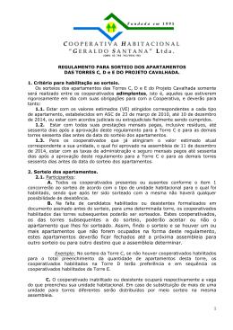 Cooperativa Habitacional Geraldo Santana LTDA
