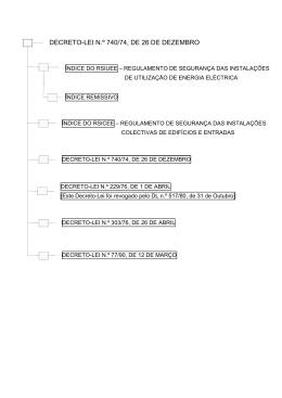 Decreto-Lei n.º 740/74, de 26 de Dezembro