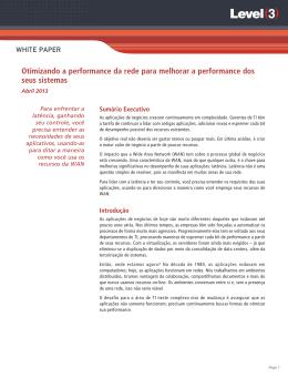 Otimizando a performance da rede para melhorar a performance