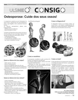 Osteoporose: Cuide dos seus ossos!