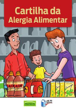 Cartilha Alergia Alimentar