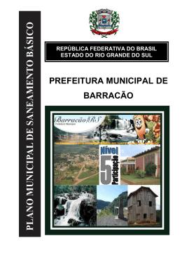 PMSB - prefeitura municipal de barracão/rs