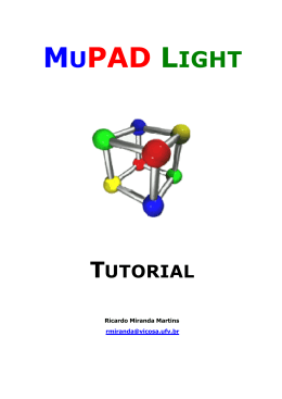 mupad light tutorial