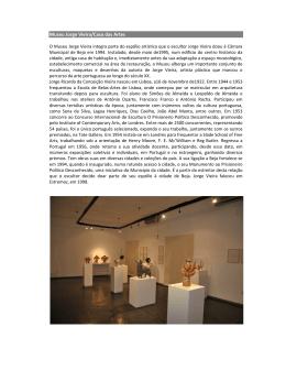 Museu Jorge Vieira/Casa das Artes