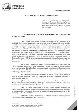 Lei nº 9.524, de 29 de dezembro de 2014