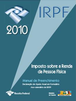 Manual de preenchimento da declaração do IRPF
