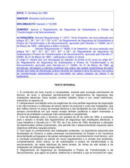 Decreto n.º 42 895 SUMÁRIO: Aprova o