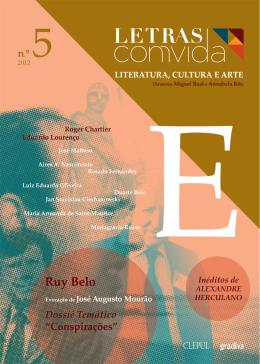 Revista Letras ComVida, Número 5 - 2012