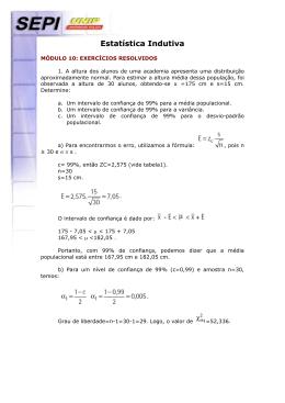 MDULO X - EXERCCIOS RESOLVIDOS